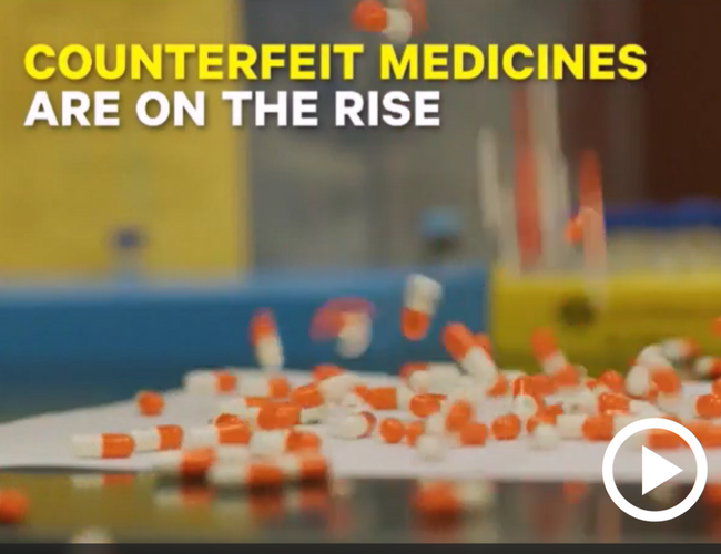 Video: Finding the Fakes ( Counterfeit Medicines)