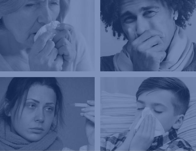 cold and flu poster