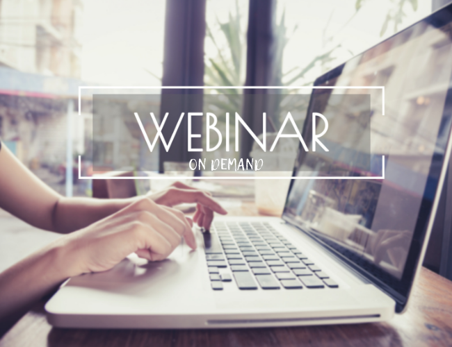 On Demand Webinar Library